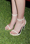 WEST HOLLYWOOD, CA- MAY 02: Actress/model Lydia Hearst (shoe detail) at the Jaguar North America and BritWeek present a Villainous Affair held at The London on May 2, 2014 in West Hollywood, California.