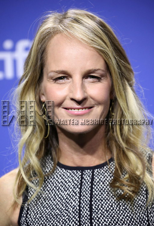 Helen Hunt attending the The 2012 Toronto International Film Festival.Photo Call for 'The Sessions' at the TIFF Bell Lightbox in Toronto on 9/9/2012