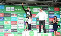 Picture by Simon Wilkinson/SWpix.com 05/09/2017 - Cycling OVO Energy Tour of Britain - Stage 3 Normanby Hall to Scunthorpe - the finish at Scunthorpe, Lincolnshire <br /> Podiums -  GRAHAM BRIGGS
