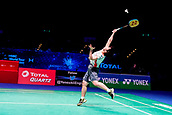 18th March 2018, Arena Birmingham, Birmingham, England; Yonex All England Open Badminton Championships; Akane Yamaguchi (JPN) in the womens singles the final against Tai Tzu Ying (TPE)
