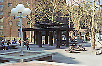 """New York City: Riis Plaza, Jacob Riis Homes. 1988 AIA Guide to New York City: """"well worth the trip.. a great place. Photo '78."""