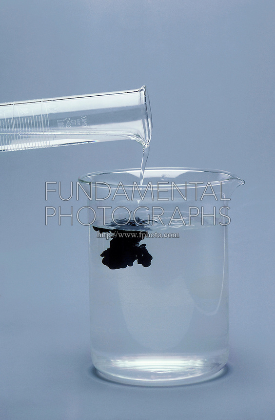 IRON SULFIDE<br /> FeS Precipitate<br /> The addition of the Iron to the Sulfide solution is used to cause a precipitate to find metal contaminents in water systems.