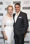 "Laila Robins and Robert Cuccioli attends the Opening Night of The Gingold Theatrical Group production of Bernard Shaw's ""Caesar & Cleopatra"" at Theatre Row Theatre on September 24, 2019 in New York City."