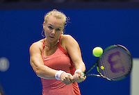 Rotterdam, Netherlands, December 20, 2015,  Topsport Centrum, Lotto NK Tennis, Final womans single Kiki Bertens (NED)<br /> Photo: Tennisimages/Henk Koster