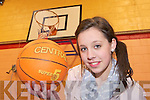 St Paul's basketballer Meagan Buckley who has been selected on the Irish u16 squad to play in the European Championships to be held in Macedonia