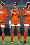 15 October 2016: Virginia's Alexis Shaffer. The Duke University Blue Devils hosted the University of Virginia Cavaliers at Koskinen Stadium in Durham, North Carolina in a 2016 NCAA Division I Women's Soccer match. Duke won the game 1-0.