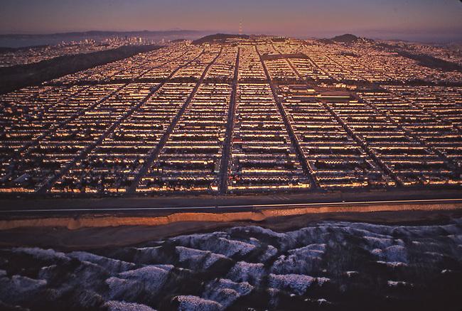 Avenues district of San Francisco