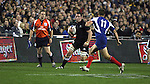 All Black Reuben Thorne in action during the first international rugby test at Eden Park, Auckland, New Zealand, Saturday, June 02, 2007. The All Blacks beat France 42-11.
