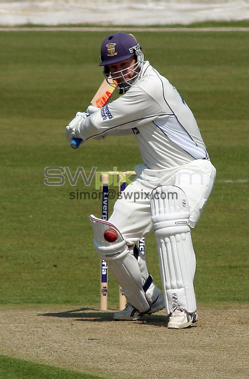 PICTURE BY VAUGHN RIDLEY/SWPIX.COM -  Cricket - Liverpool Victoria County Championship Division One- Riverside, Chester-le-Street, County Durham - 10/05/06...? Simon Wilkinson - 07811 267706...Durham's Jonathan Lewis.