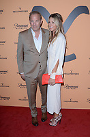 "LOS ANGELES, CA - MAY 30: Kevin Costner, Christine Baumgartner at the premiere party for Paramount Network's ""Yellowstone"" Season 2 at Lombardi House on May 30, 2019 in Los Angeles, California. <br /> CAP/MPI/DE<br /> ©DE//MPI/Capital Pictures"