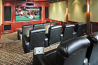 Modern Theater With Staged Seating
