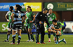 Connacht's Jake Heenan goes down injured<br /> Guiness Pro12<br /> Cardiff Blue v Connacht<br /> BT Sport Cardiff Arms Park<br /> 06.03.15<br /> &copy;Ian Cook -SPORTINGWALES
