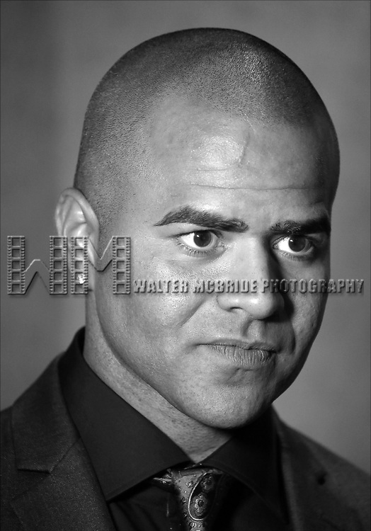 Christopher Jackson attends the Broadway Opening Night After Party for 'Holler if ya Hear Me'  on June 19, 2014 at Gotham Hall in New York City.