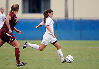 Florida International University women's soccer player Ashleigh Shim (9) plays against the University of Denver on October 16, 2011 at Miami, Florida. FIU won the game 1-0. .