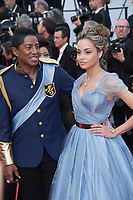 Jermaine Jackson &amp; Maday Velazquez at the premiere for &quot;The Beguiled&quot; at the 70th Festival de Cannes, Cannes, France. 24 May 2017<br /> Picture: Paul Smith/Featureflash/SilverHub 0208 004 5359 sales@silverhubmedia.com