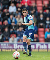 Luke O'Nien of Wycombe Wanderers during the Sky Bet League 2 match between Leyton Orient and Wycombe Wanderers at the Matchroom Stadium, London, England on 1 April 2017. Photo by Andy Rowland.