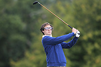 Gabriel Morgan Birke of Team Chile on the 6th tee during Round 3 of the WATC 2018 - Eisenhower Trophy at Carton House, Maynooth, Co. Kildare on Friday 7th September 2018.<br /> Picture:  Thos Caffrey / www.golffile.ie<br /> <br /> All photo usage must carry mandatory copyright credit (&copy; Golffile | Thos Caffrey)