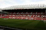 081004 England Train Old Trafford Stadium