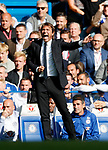 Chelsea's Antonio Conte looks on dejected during the premier league match at Stamford Bridge Stadium, London. Picture date 17th September 2017. Picture credit should read: David Klein/Sportimage