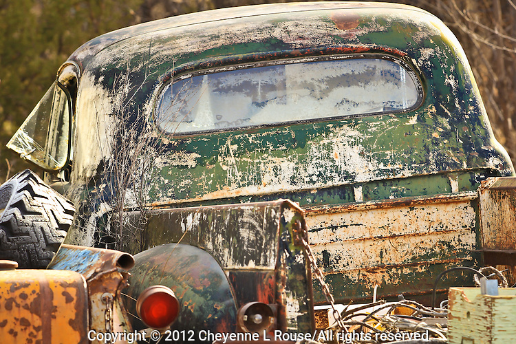 Nambe Chevy Truck - New Mexico - Old Truck