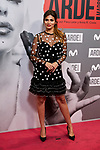 Sara Salamo attends to ARDE Madrid premiere at Callao City Lights cinema in Madrid, Spain. November 07, 2018. (ALTERPHOTOS/A. Perez Meca)