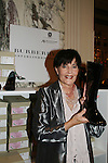 "Linda Dano (Another World, OLTL, AMC, GH) is holding a Burberry bhoot at the 15th Annual QVC presents ""FFANY Shoes on Sale"" which benefits Breast Cancer Research on October 15, 2008 at the Waldorf Astoria, New York City, New York. (Photo by Sue Coflin/Max Photos)"