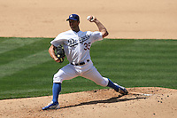04/29/12 Los Angeles, CA: Los Angeles Dodgers starting pitcher Chris Capuano #35 during an MLB game between the Washington Nationals and the Los Angeles Dodgers played at Dodger Stadium