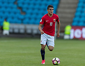 June 1th 2017, Ullevaal Stadion, Oslo, Norway; International Football Friendly 2018 football, Norway versus Sweden; Mohamed Elyounoussi of Norway in action