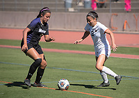 Occidental College women's soccer vs. Whittier College during Family Weekend & Homecoming, Oct. 22, 2016 in Jack Kemp Stadium.<br /> (Photo by Marc Campos, Occidental College Photographer)