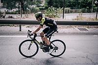 Carlos Verona (ESP/Mitchelton-Scott)<br /> <br /> Stage 5: Grenoble &gt; Valmorel (130km)<br /> 70th Crit&eacute;rium du Dauphin&eacute; 2018 (2.UWT)