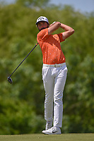 Curtis Luck (AUS) watches his tee shot on 4 during round 4 of the AT&T Byron Nelson, Trinity Forest Golf Club, Dallas, Texas, USA. 5/12/2019.<br /> Picture: Golffile   Ken Murray<br /> <br /> <br /> All photo usage must carry mandatory copyright credit (© Golffile   Ken Murray)