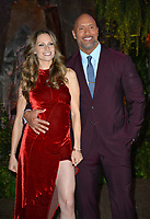 Dwayne Johnson &amp; Lauren Hashian at the Los Angeles premiere of &quot;Jumanji: Welcome To the Jungle&quot; at the TCL Chinese Theatre, Hollywood, USA 11 Dec. 2017<br /> Picture: Paul Smith/Featureflash/SilverHub 0208 004 5359 sales@silverhubmedia.com