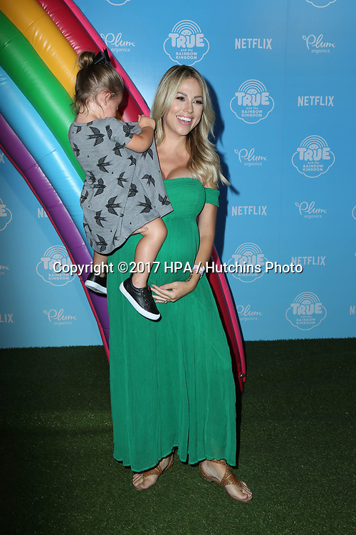 LOS ANGELES - AUG 10:  Sophie Carlson_Jessica Hall at the True and the Rainbow Kingdom Series LA Premiere at the Pacific Theater At The Grove on August 10, 2017 in Los Angeles, CA