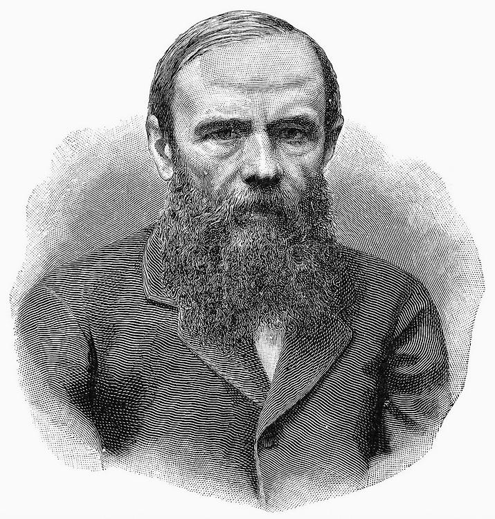 FEDOR DOSTOEVSKI (1821-1881). /nRussian novelist. Steel engraving, 19th century.