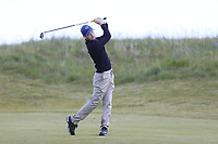 Conor Ryan (Dun Laoghaire) during the 1st round of the East of Ireland championship, Co Louth Golf Club, Baltray, Co Louth, Ireland. 02/06/2017<br /> Picture: Golffile | Fran Caffrey<br /> <br /> <br /> All photo usage must carry mandatory copyright credit (&copy; Golffile | Fran Caffrey)