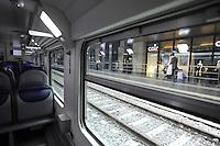 Roma, 5 aprile 2012.Trenitalia presenta i nuovi treni per i pendolari.