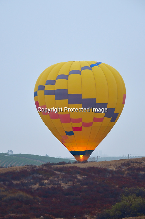 Royalty Free Stock Photo of Hot Air Balloon