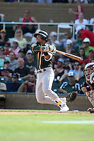 Richie Martin - Oakland Athletics 2016 spring training (Bill Mitchell)