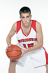 MADISON, WI - OCTOBER 24: Freshman guard  Brett Valentyn #15 of the Wisconsin Badgers poses for a photo at the Kohl Center on October 24, 2006 in Madison, Wisconsin. (Photo by David Stluka)