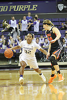 Feb 06, 2015: Washington's Jazmine Davis against Oregon State.  Washington defeated Oregon State 76-67 at Alaska Airlines Arena in Seattle, WA.