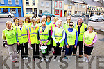 Taking part in the Kerry Hospice Good Friday Walk in Cahersiveen  were front l-r; Marie O'Shea, Mary Teresa O'Sullivan, Mary Murphy, Mary Shanahan, Noreen O'Neill, Lisa Golden, Mary O'Shea, back l-r; Ann Bowler, Annie Coffey, Sheila O'Neill, Con Curran, Marie Clifford, Bridget Clifford, Mike Bowler & Christy O'Connell.