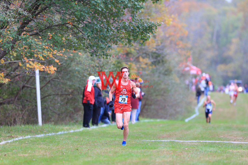 The Ohio State University men's and women's cross country team compete at the 2017 Big Ten Championships in Bloomington, IN. October 29, 2017