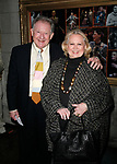 Harvey Evans &amp; Barbara Cook arriving for the Opening Night Performance of DEUCE at the Music Box Theatre in New York City.<br />