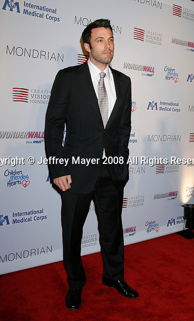 WEST HOLLYWOOD, CA. - February 18: Actor Ben Affleck arrives at the Children Mending Hearts Gala at the House Of Blues on February 18, 2009 in Los Angeles, California.