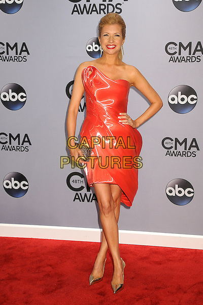 05 November 2013 - Nashville, Tennessee - Susan Yeagley. 47th CMA Awards, Country Music's Biggest Night, held at Bridgestone Arena. <br /> CAP/ADM/BP<br /> &copy;BP/ADM/Capital Pictures