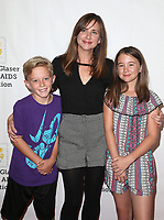 29 October 2017 - Culver City, California - Kellie Martin, Margaret Heather Christian, Olivia James Christian. Elizabeth Glaser Pediatric AIDS Foundation's 28th Annual 'A Time For Heroes' Family Festival helming at Smashbox Studios. Photo Credit: F. Sadou/AdMedia