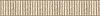 "6 1/2"" Bead Board border, a hand-cut stone mosaic, shown in polished Botticino and honed Jura Grey."