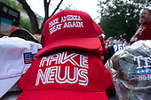 Merchandise lines the parade route along Constitution Avenue in Washington DC on July 4, 2019.<br /> <br /> Credit: Stefani Reynolds / CNP
