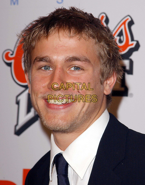 CHARLIE HUNNAM.The Cold Mountain L.A. Premiere held at The Mann National Theater in Westwood, California .07 December 2003.headshot, portrait, mole, beard, stubble.www.capitalpictures.com.sales@capitalpictures.com.©Capital Pictures.