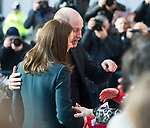 21.02.2018; Sunderland, UK: KATE MIDDLETON AND PRINCE WILLIAM  PDA<br /> <br /> It appeasr that Prince William is following Pbrother Prince Harry's lead of showing affection in public.<br /> The royal couple were visiting The Fire Station, one of Sunderland&rsquo;s most iconic buildings, recently converted into a music and arts hub.  <br /> On arrival they did a walkabout meeting the locals gathered outside. <br /> Mandatory Photo Credit: &copy;Francis Dias/NEWSPIX INTERNATIONAL<br /> <br /> IMMEDIATE CONFIRMATION OF USAGE REQUIRED:<br /> Newspix International, 31 Chinnery Hill, Bishop's Stortford, ENGLAND CM23 3PS<br /> Tel:+441279 324672  ; Fax: +441279656877<br /> Mobile:  07775681153<br /> e-mail: info@newspixinternational.co.uk<br /> Usage Implies Acceptance of Our Terms &amp; Conditions<br /> Please refer to usage terms. All Fees Payable To Newspix International